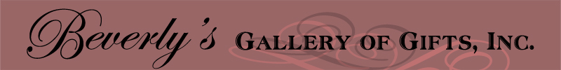 Beverly's Gallery of Gifts, Inc.  www.beverlysgalleryofgifts.com